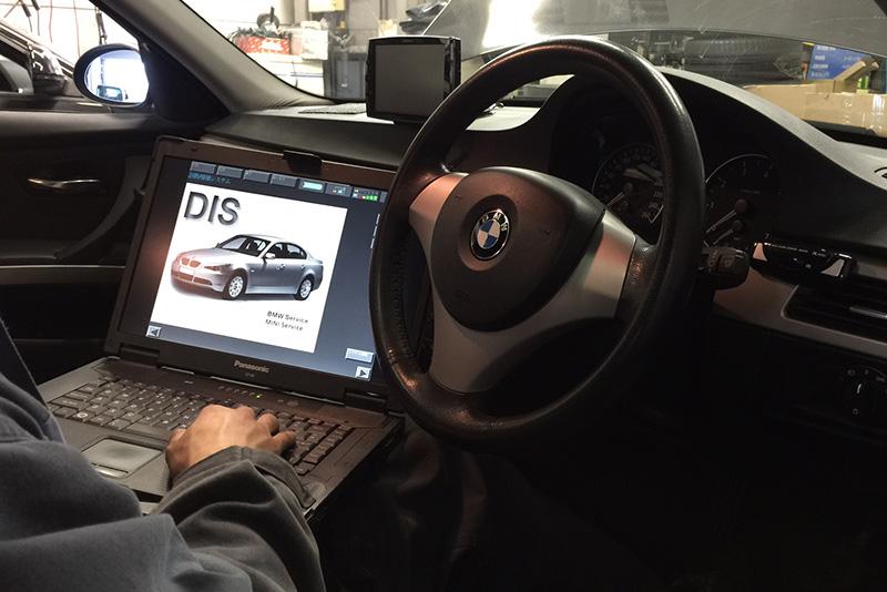 BMW disテスター