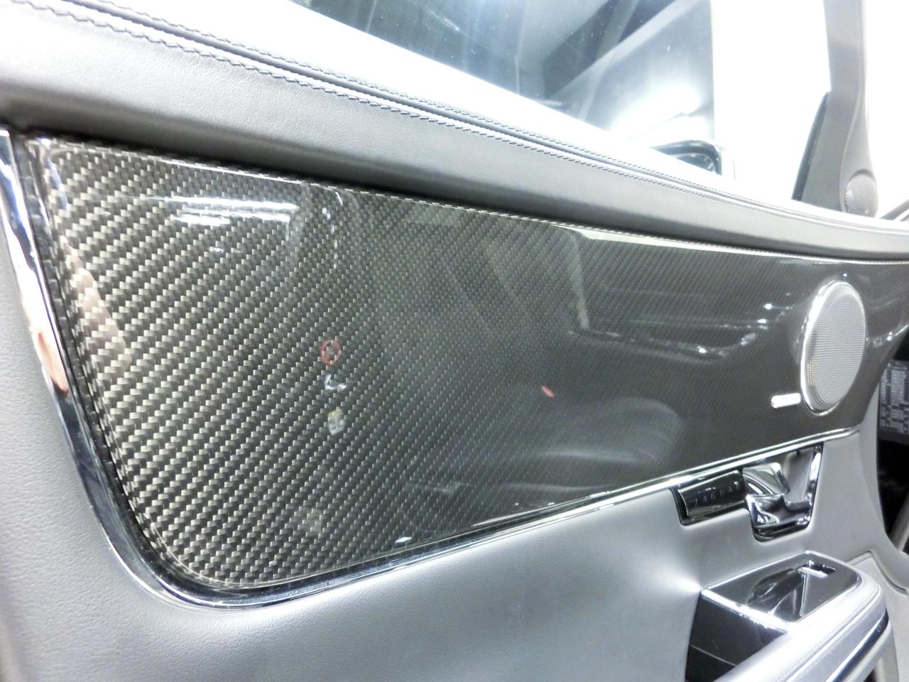 ジャガーXJプレミアムラグジュアリーアルティメットブラック x351中古車インテリアパネル