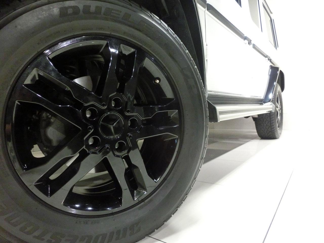 メルセデスベンツ G350d カスタムドレスアップ maqspeed WhiteEdition