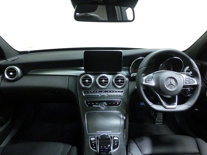 2016メルセデスベンツAMG C43 ステーションワゴン内装ブラック