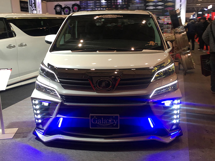 東京オートサロン2019 LED