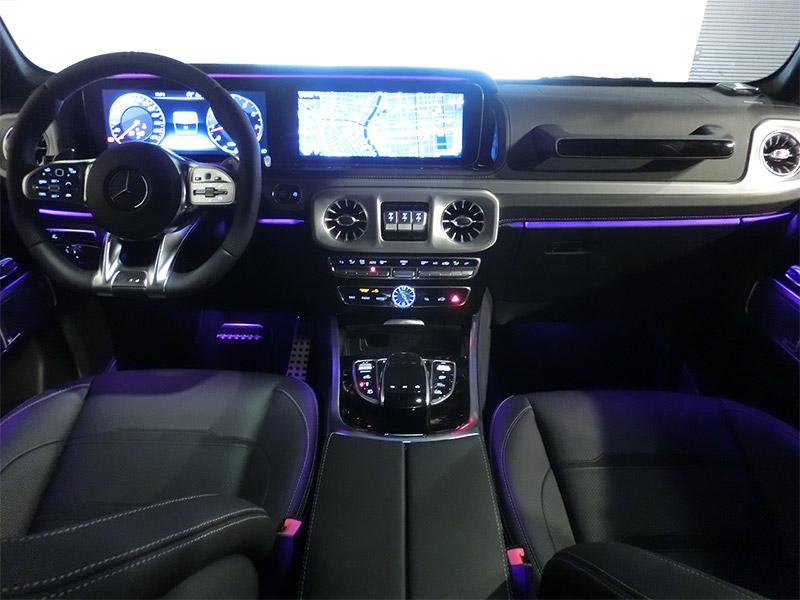 新型gクラスアンビエントライト紫