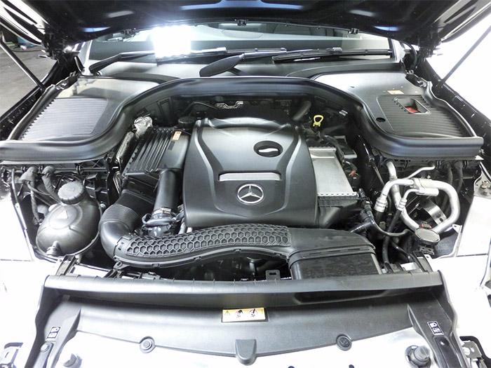 GLC 250 sport エンジン ターボ