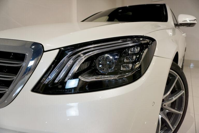 2018年式 メルセデスベンツ S450 エクスクルーシブ ISG搭載 AMGラインプラス ダイヤモンドホワイト MQ3194